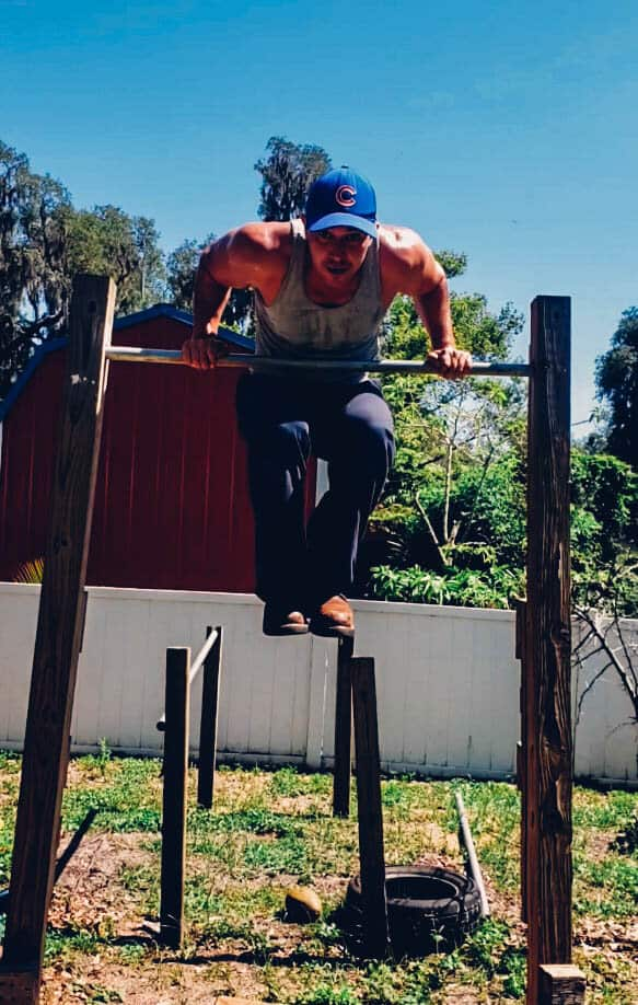 """Andrew Hornsby, """"Muscle Up""""   Adult Classes Taken:  Aerial, Tumbling, Stretching, Parkour, Circus, BreakdancePrevious AcroSports Preschool Head Coach [@andrew.hornsby]"""