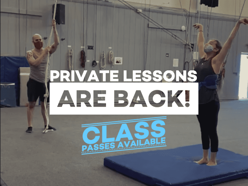 Adult Private Lessons are back